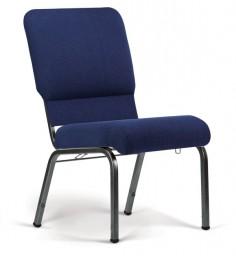 Bertolini-Hybrid Church Chairs Indigo & Silver Vein 20-Wide