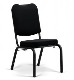 Bertolini-Hybrid Church Chairs Black & Black 18-Wide