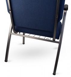 armchair bookrack from rear