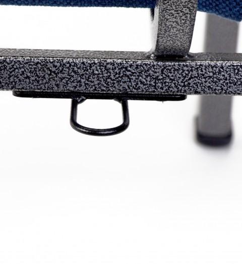 armchair communion cup holder on chair closeup