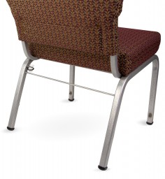 communion cup holder on the chair