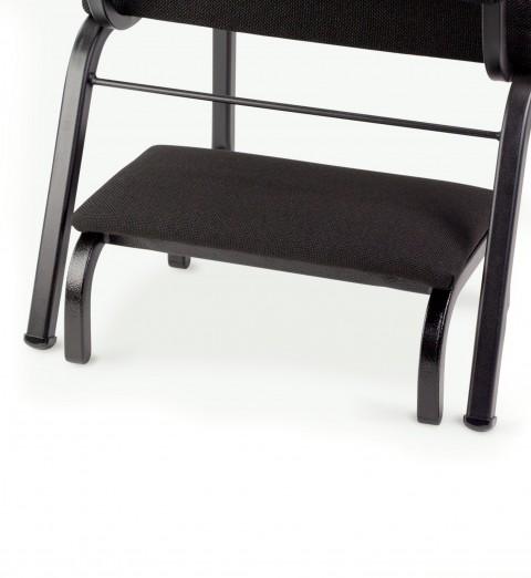 kneeler under chair closeup