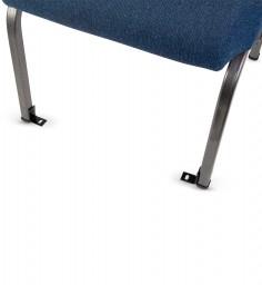 l-brackets on chair