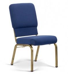 Bertolini-Hybrid Church Chairs Indigo & Gold Vein 18-Wide