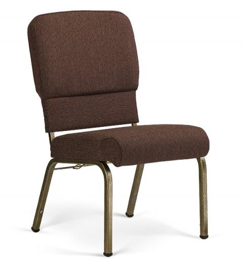 Liberty Hybrid Church Chairs Espresso & Goldvein