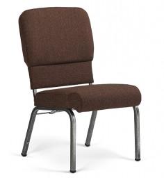 Liberty Hybrid Church Chairs Espresso & Silvervein