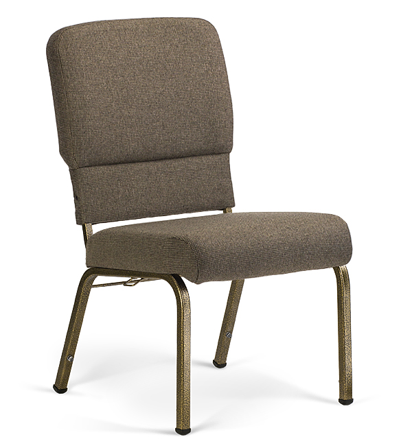 """20"""" Wide Liberty Hybrid Church Chairs Fossil & Goldvein"""