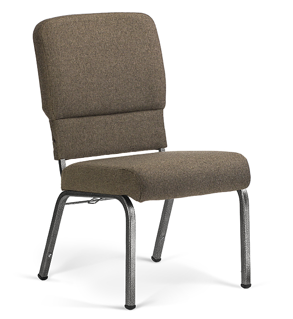 """20"""" Wide Liberty Hybrid Church Chairs Fossil & Silvervein"""