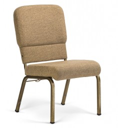 Liberty Hybrid Church Chairs Khaki & Goldvein