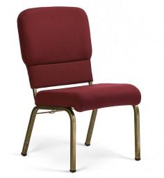 Liberty Hybrid Church Chairs Maroon & Goldvein