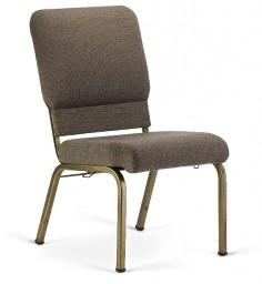 Bertolini-Hybrid Church Chairs Fossil & Gold Vein 20-Wide