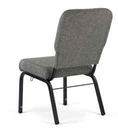 Liberty Hybrid Church Chairs Charcoal & Black