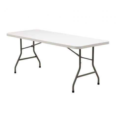 Blow Molded Folding Table 30″x 72″ Rectangular