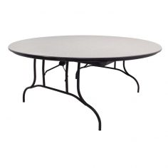 MityLite ABS Plastic 60″ Round Folding Table