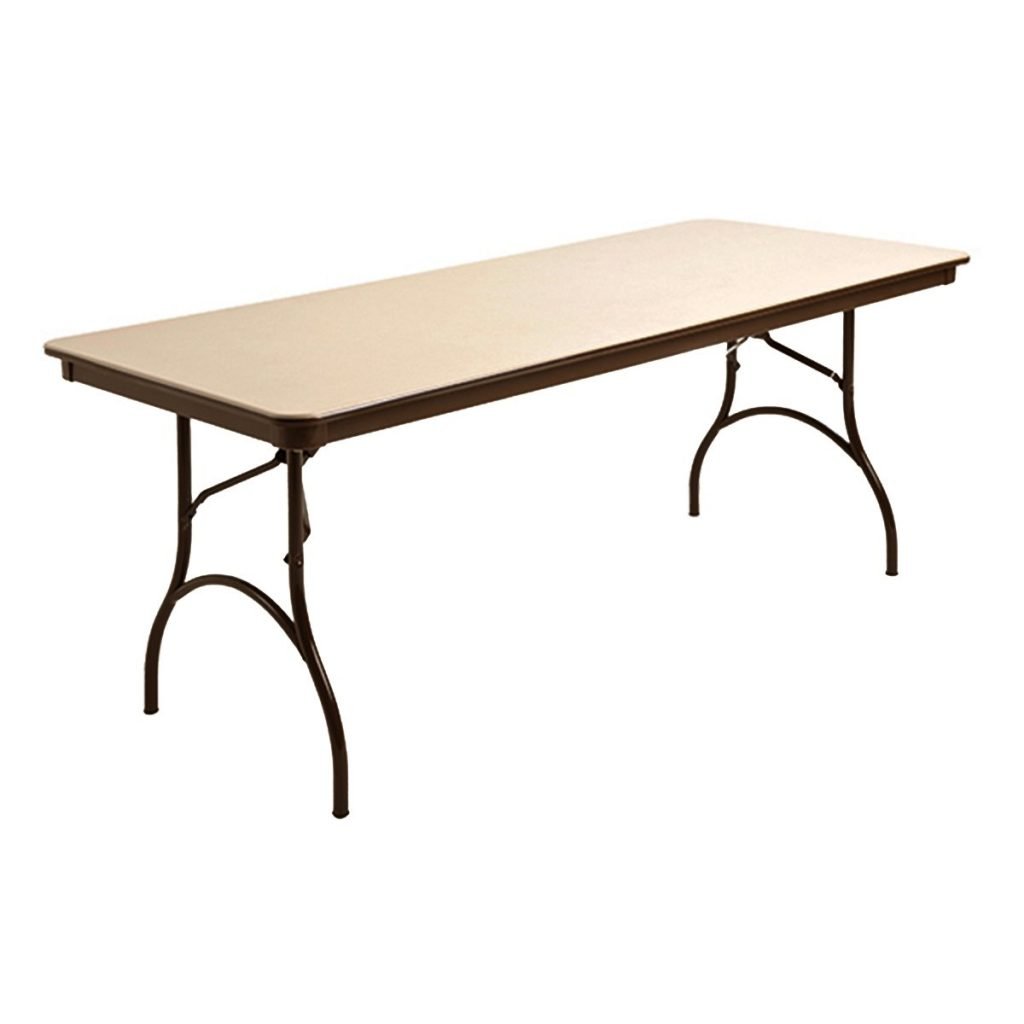 "MityLite ABS Plastic 30"" x 72"" Folding Table"