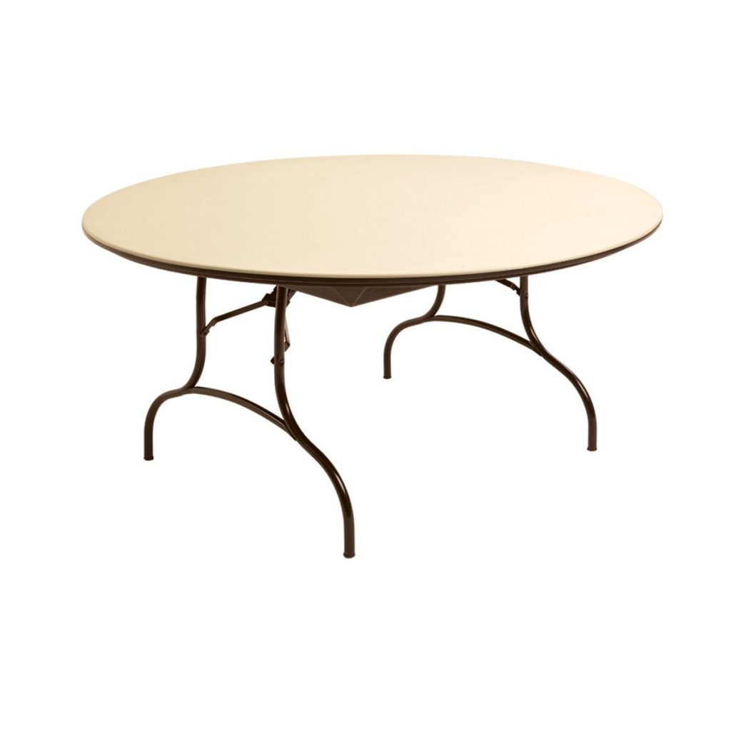 "MityLite ABS Plastic 60"" Round Folding Table"